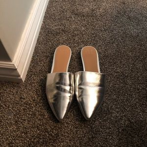 Pointed silver flat